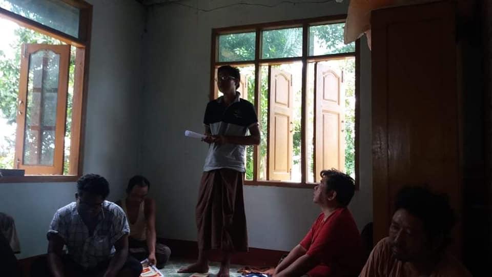 Meeting with Pwint Phyu& Minbu members (1)