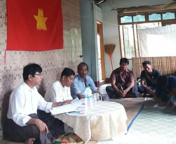 Meeting with Pwint Phyu& Minbu members (6)