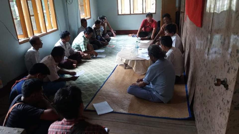 Meeting with Pwint Phyu& Minbu members (7)