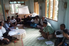 Meeting with Pwint Phyu& Minbu members (3)