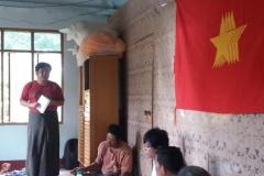 Meeting with Pwint Phyu& Minbu members (4)