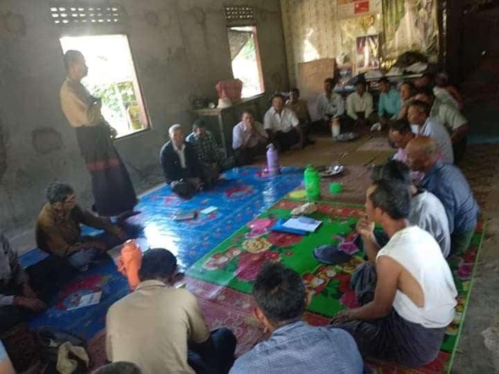 Organizing-Paukkhaung-Famer-Committee-2