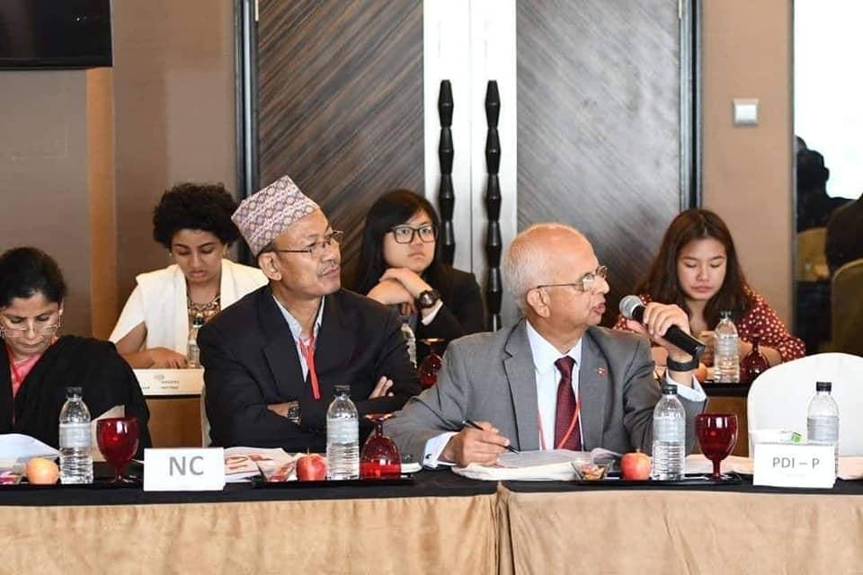 Attending  Progressive Alliance Meeting(1)