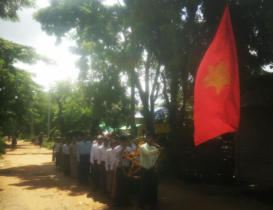 Martyrs day chaung thar(4)