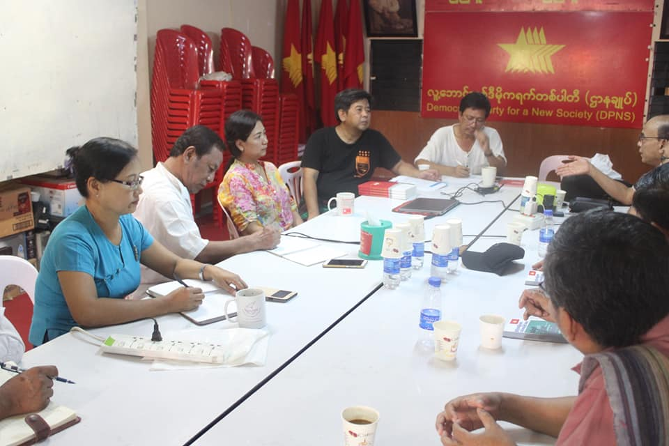 Meeting with democratic alliance (4)