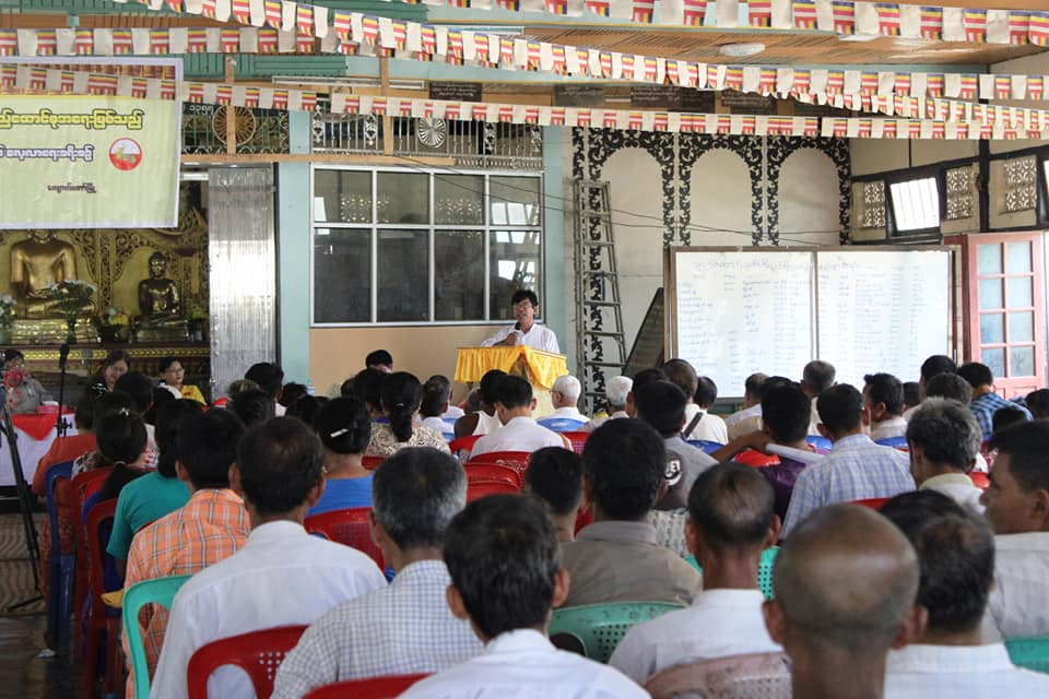Meeting with Kyawtaw villagers (1)